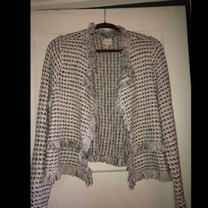 Chico's Knit Sweater Blazer